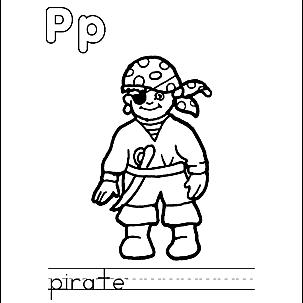 Letter P 3
