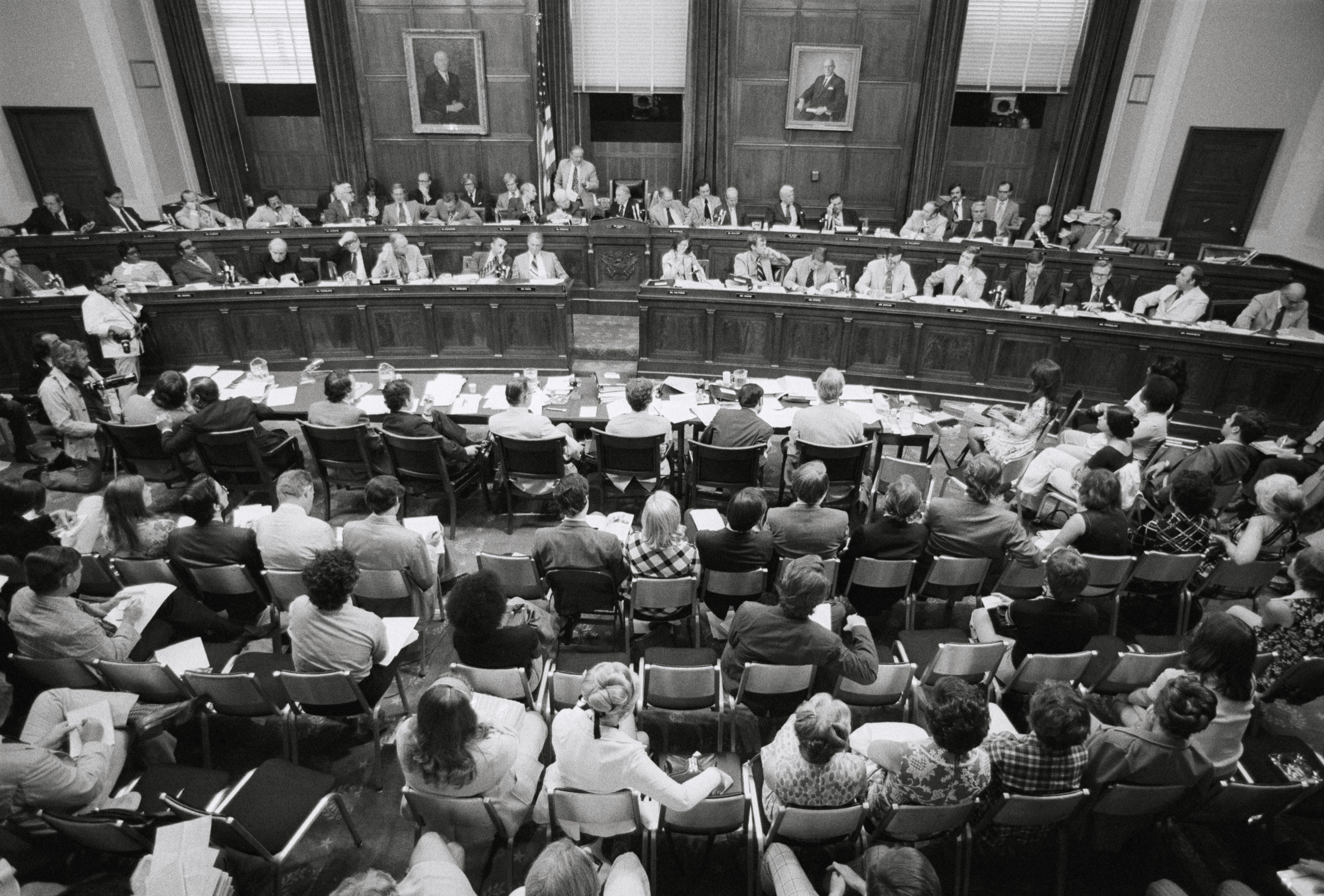 House Judiciary Committee Meeting in 1974