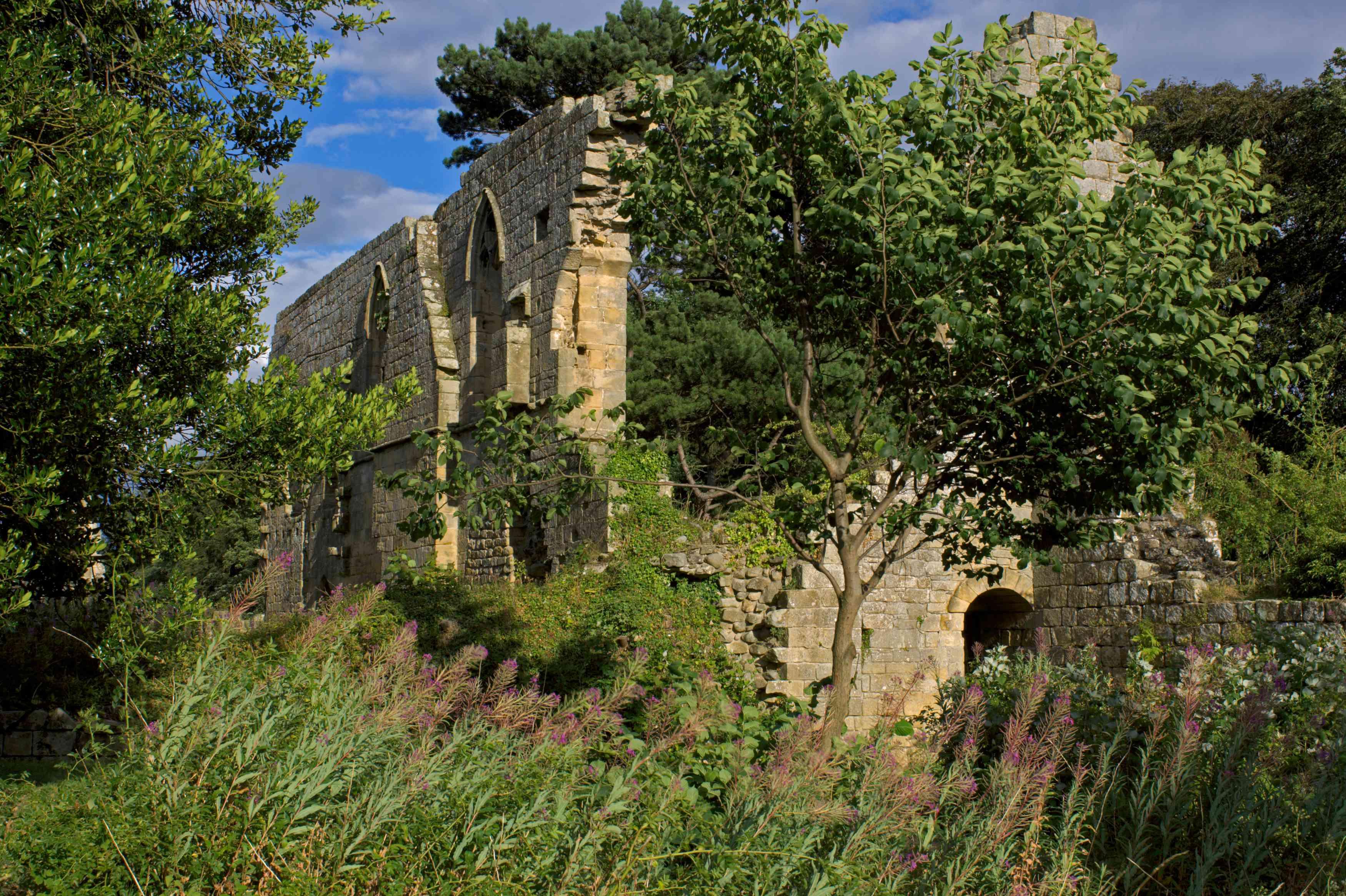 Jervaulx Abbey, near Masham, North Yorkshire, England