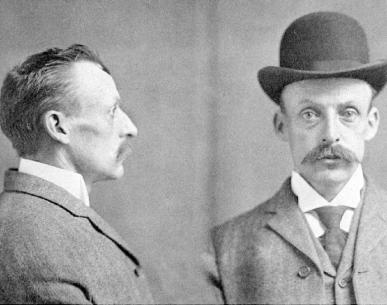 Mugshot of Albert Fish serial killer Mugshot