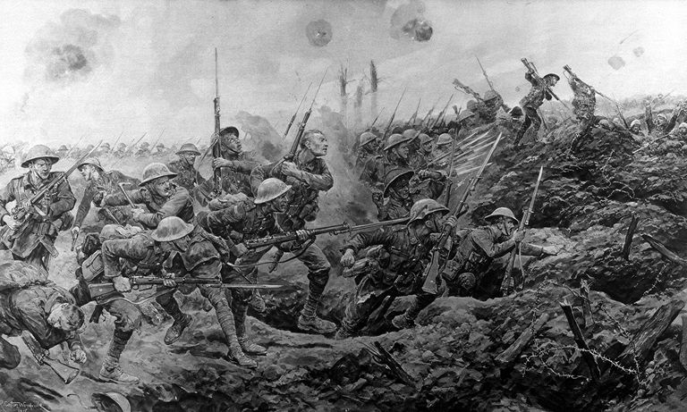 Artist's Rendering of the Charge of Several Regime