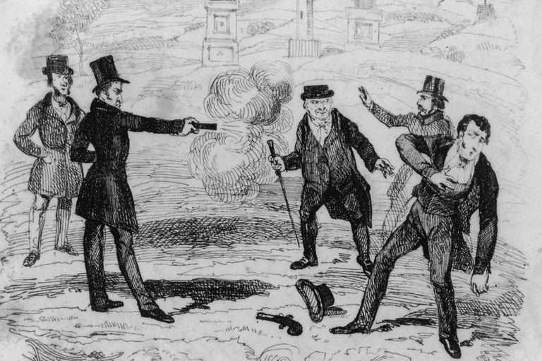 19th century duel