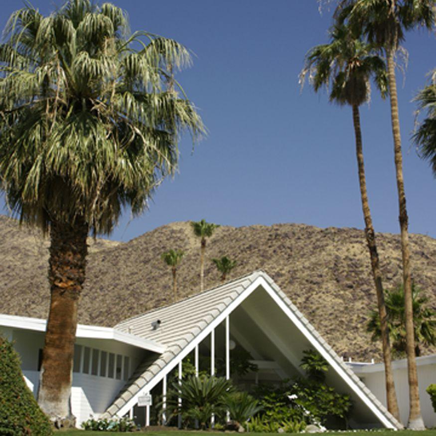 Ελβετικό Miss House στο Παλμ Σπρινγκς, Καλιφόρνια