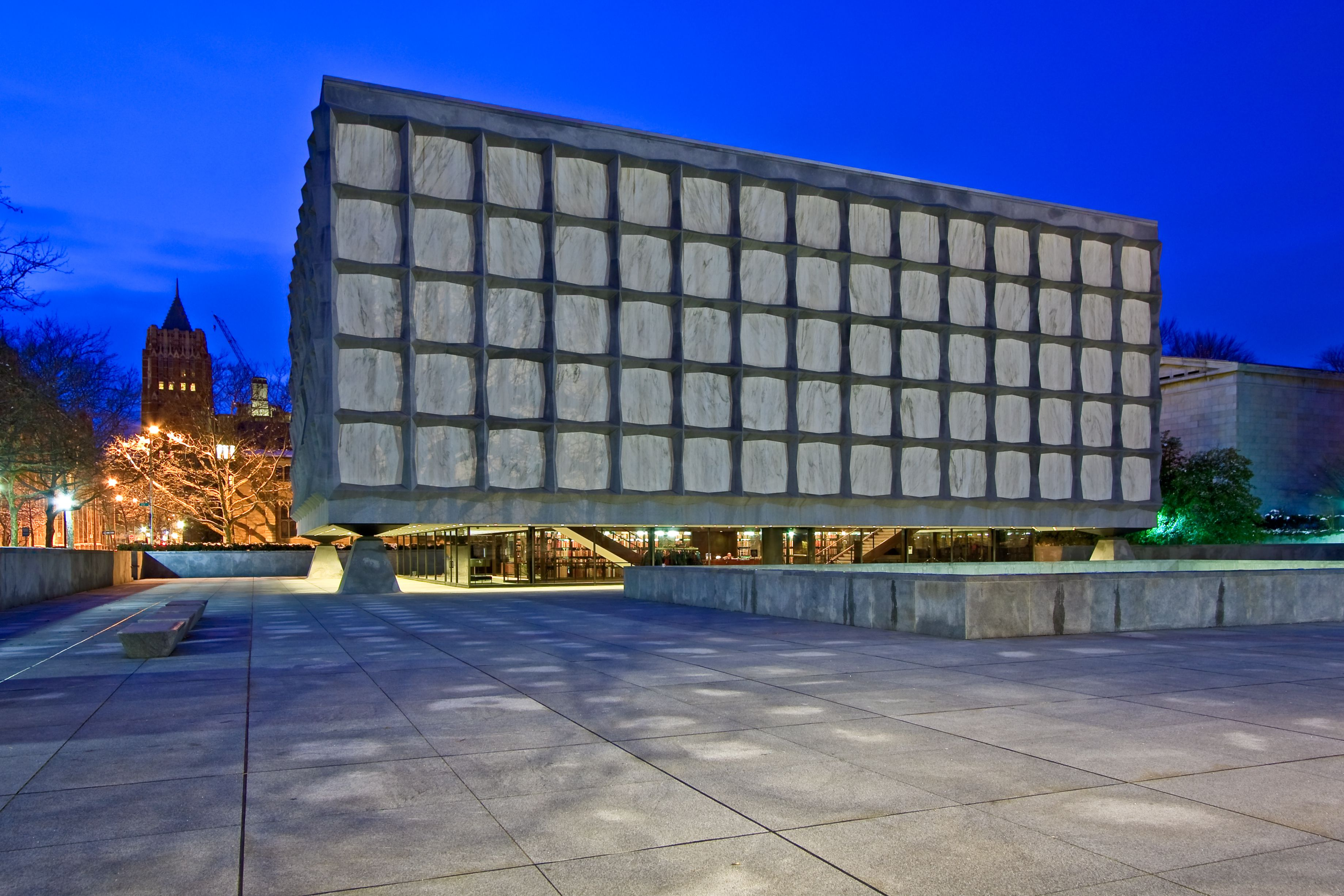 Beinecke Rare Book and Manuscript Library at Yale University, New Haven, Connecticut