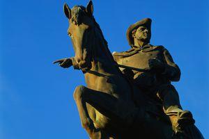 Statue of Sam Houston