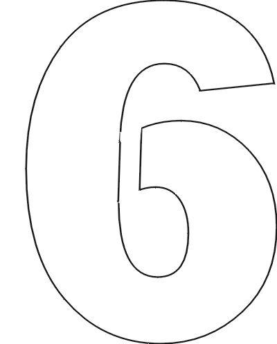 free printable number stencils