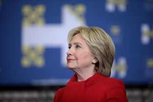 Hillary Clinton during her 2016 Presidential campaign.