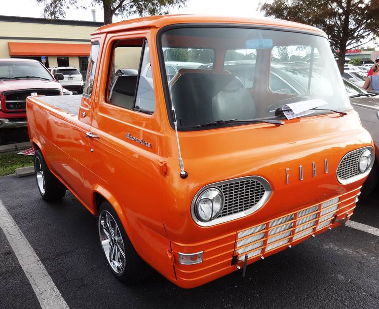 60c7c02498 First Generation Ford Econoline Pickup