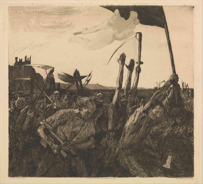 kathe kollwitz uprising