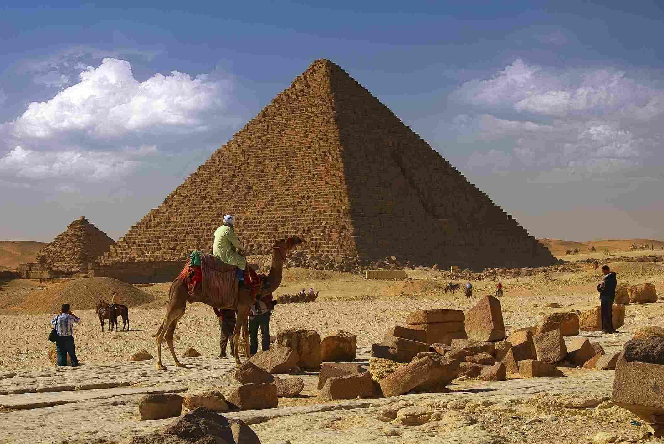 Pyramid of Menkaure or Mykerinus