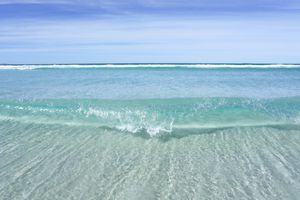 If you needed to, you could remove salt from seawater.