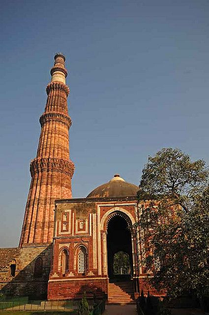 The Qutub Minar was built for Qutb-ud-din Aibak, who ruled Delhi from 1206 to 1210 CE.