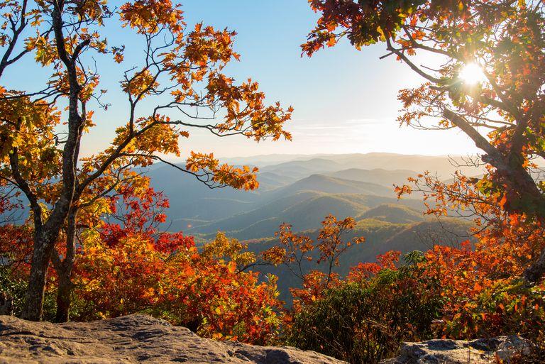 Georgia Hiking at Blood Mountain