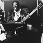 Blues guitar great B.B. King