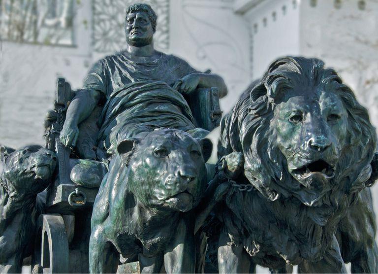Bronze Statue Of Mark Antony