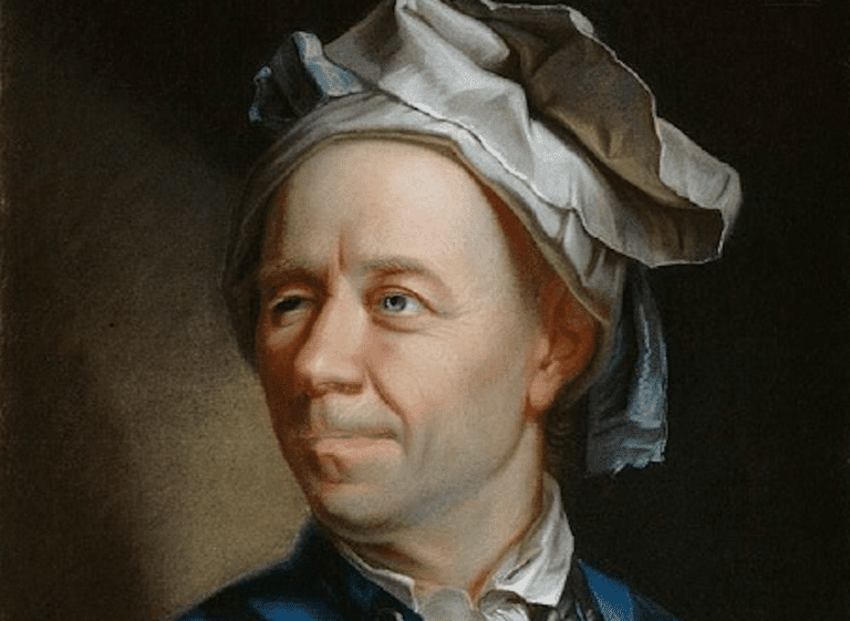 Portrait of Leonhard Euler