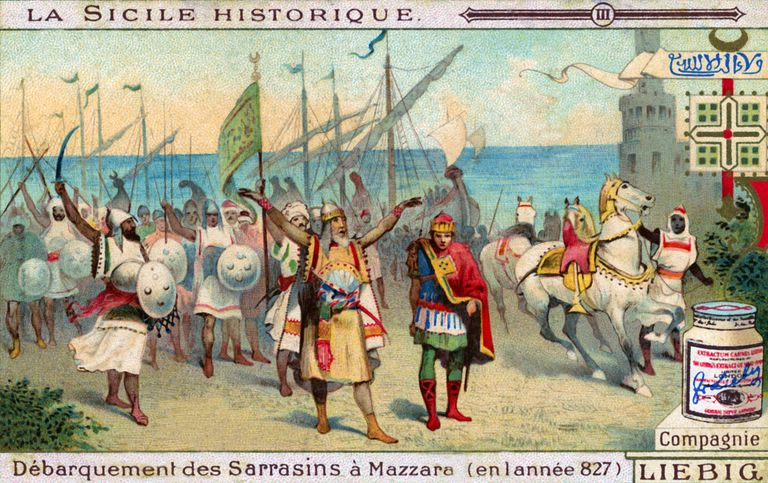 History of Sicily: Arrival of Arabs in Mazara del Vallo