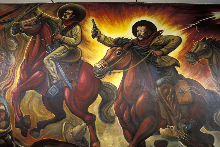 Mexico, Chihuahua, Quinta Luz Fresco, Pancho Villa