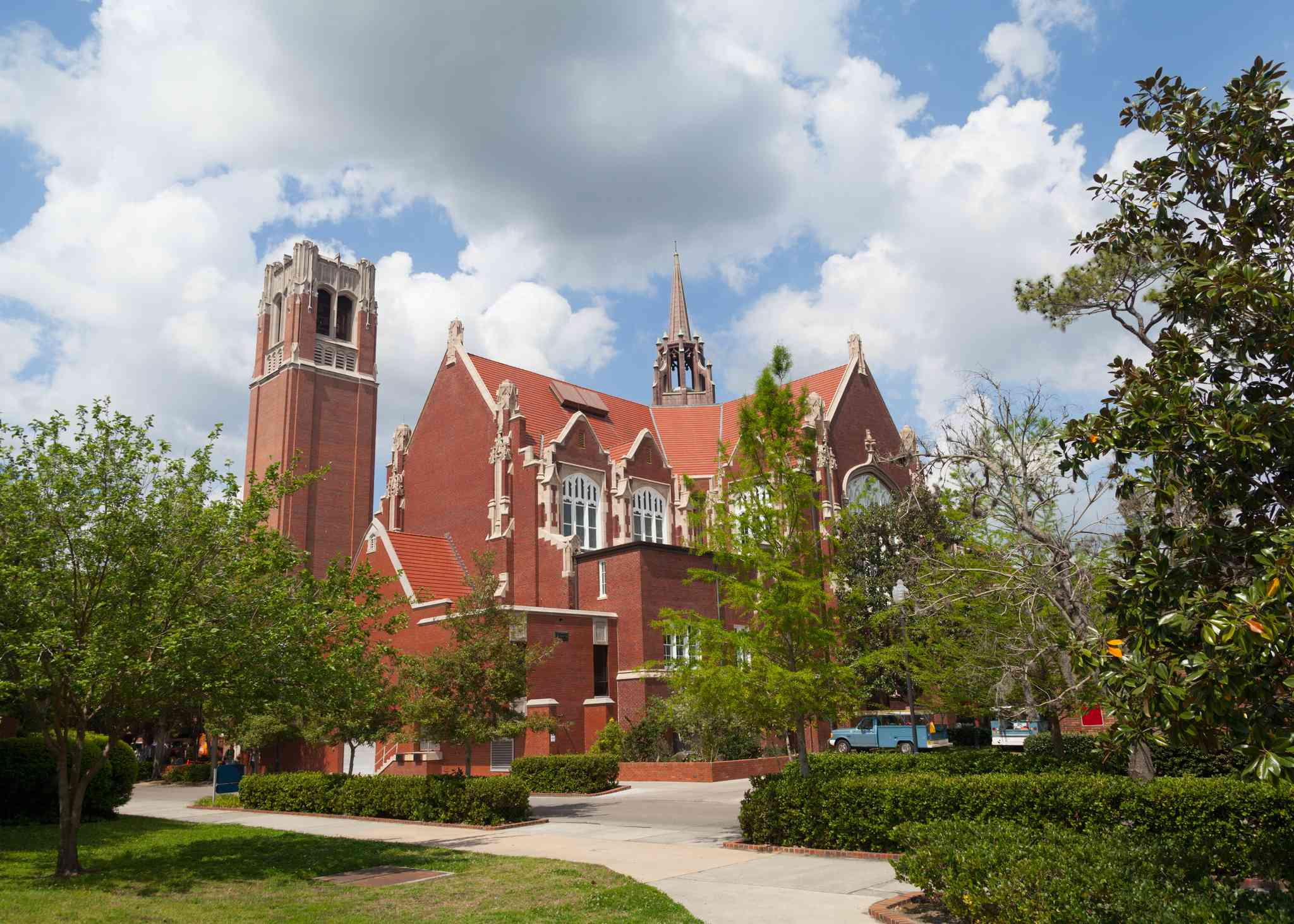 Auditorium and Century Tower at the University of Florida