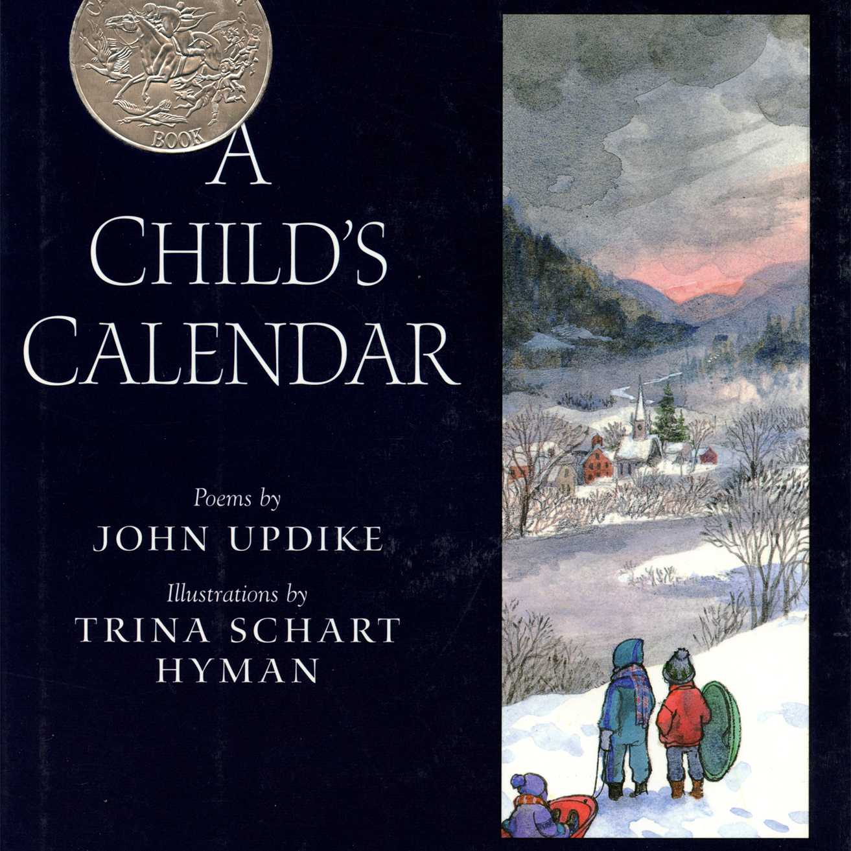 A Child's Calendar Poetry Book Cover