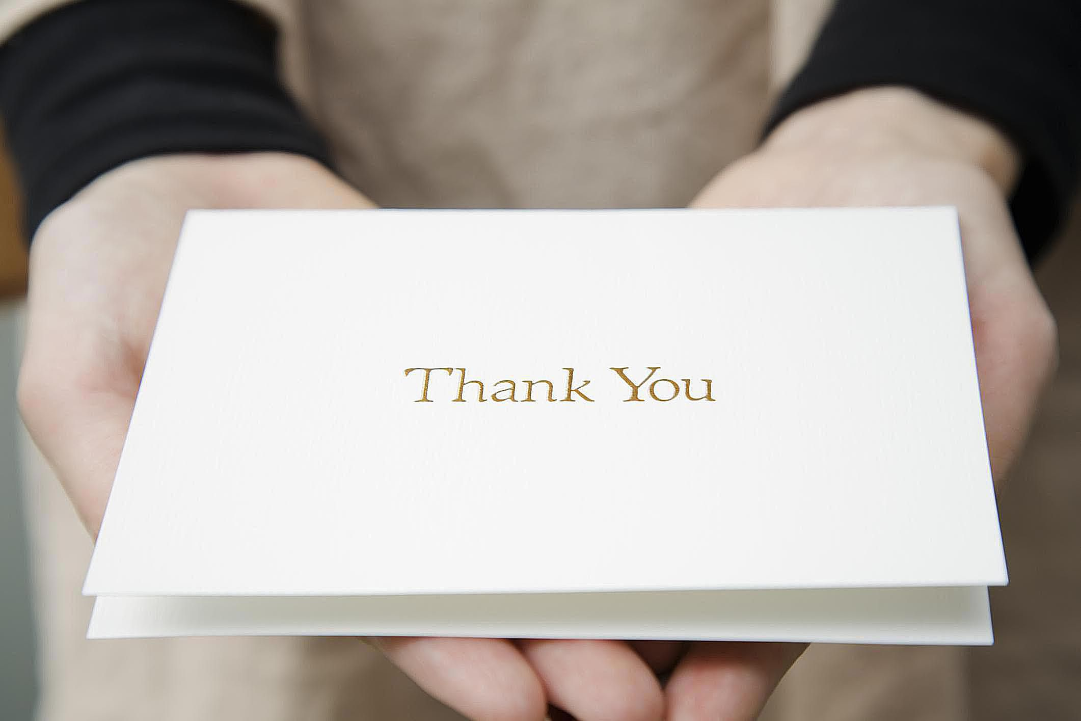 How to Write a Teaching Interview Thank You Note