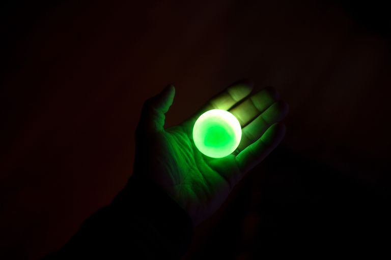 Green is the most common glow in the dark color because it's the one easiest for human eyes to see.