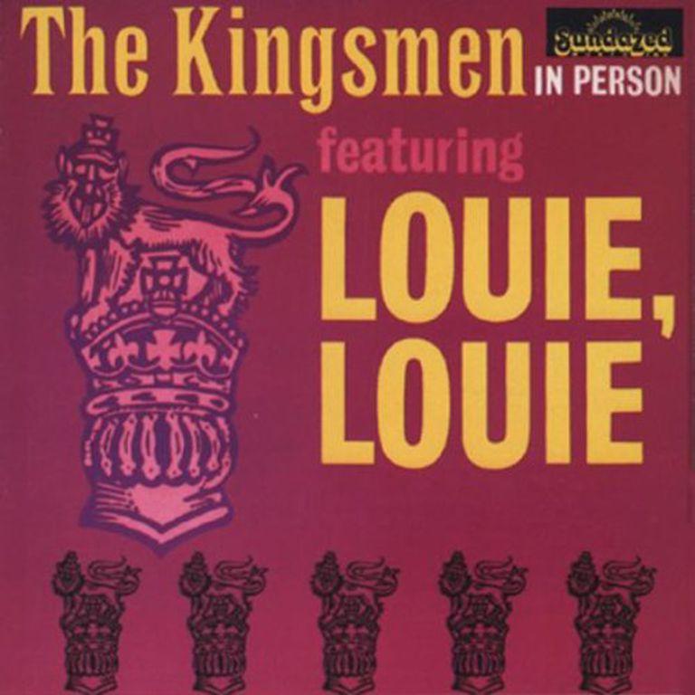 """The Kingsmen's original """"Louie Louie"""" album"""