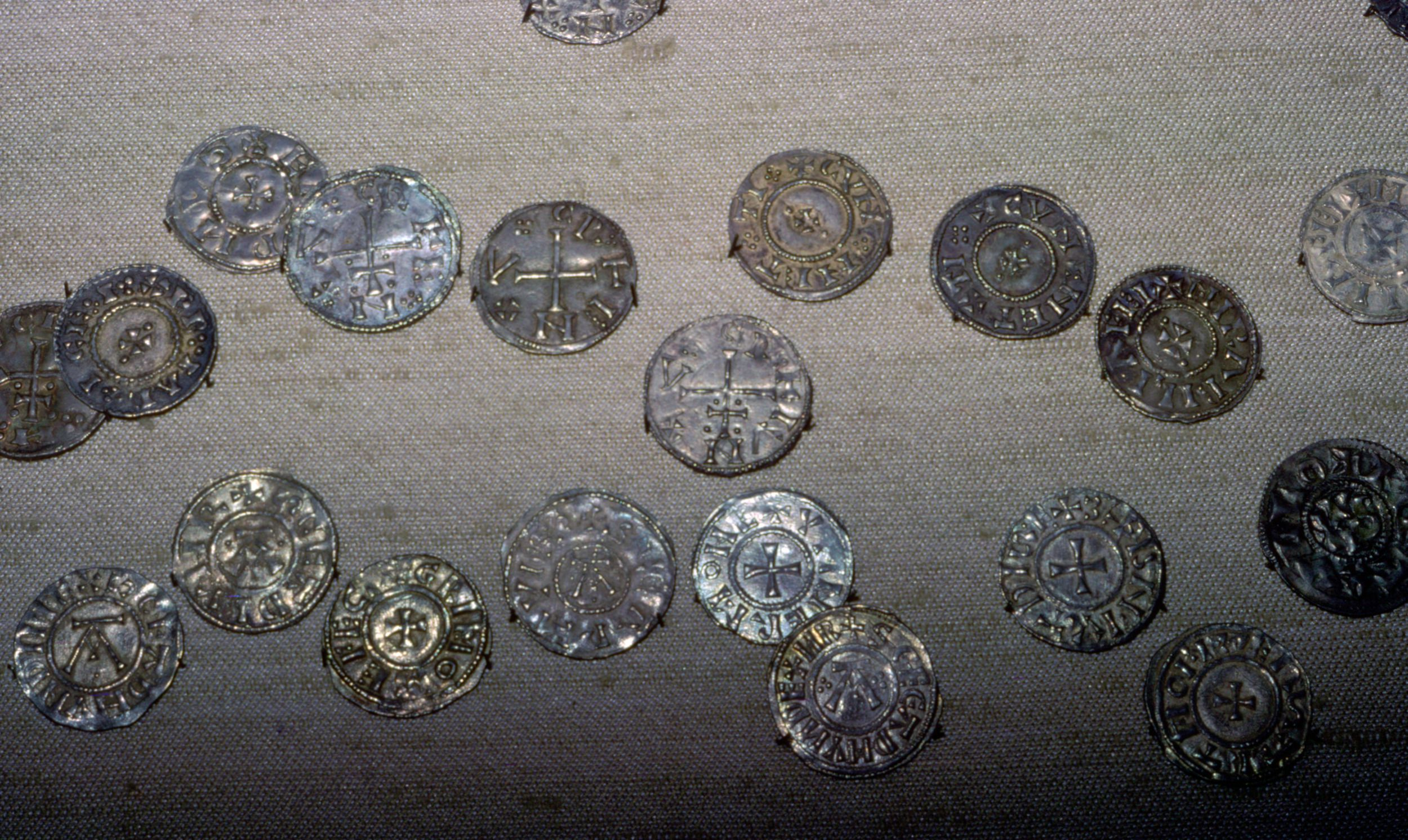 Coins from the Cuerdale Hoard