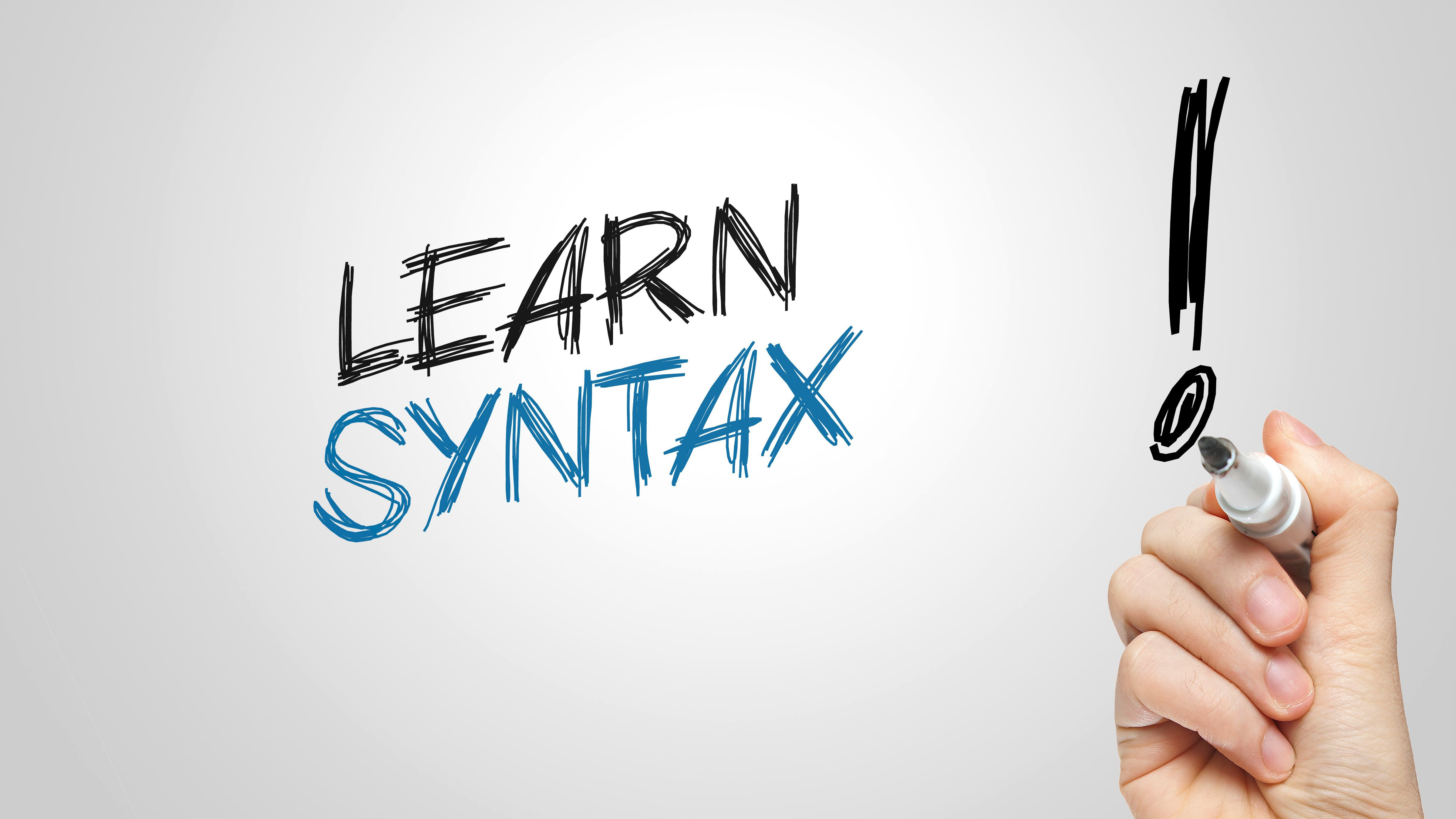 Syntax: Definition and Examples