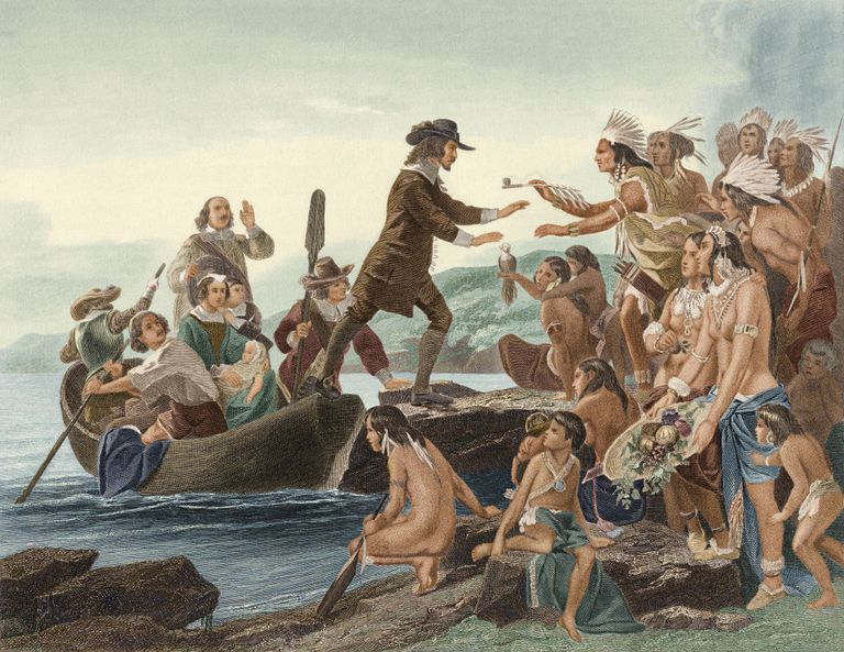 Roger Williams Lands In The New World
