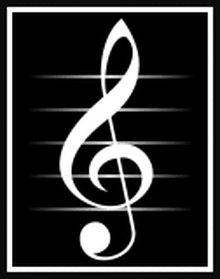 Treble Clef Piano Music Symbols