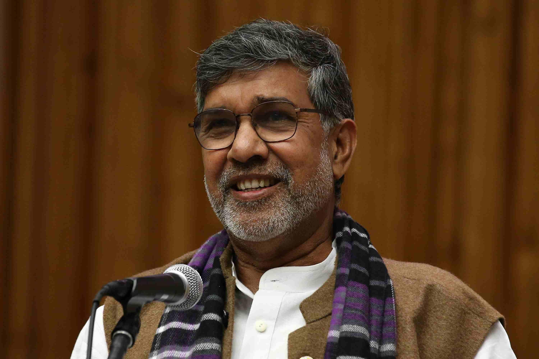Kailash Satyarthi of India, Nobel Laureate