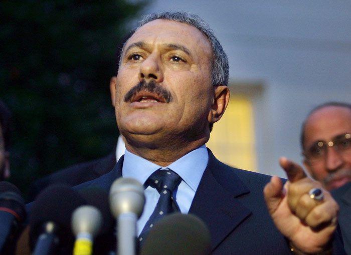 ali abdullah saleh yemen president