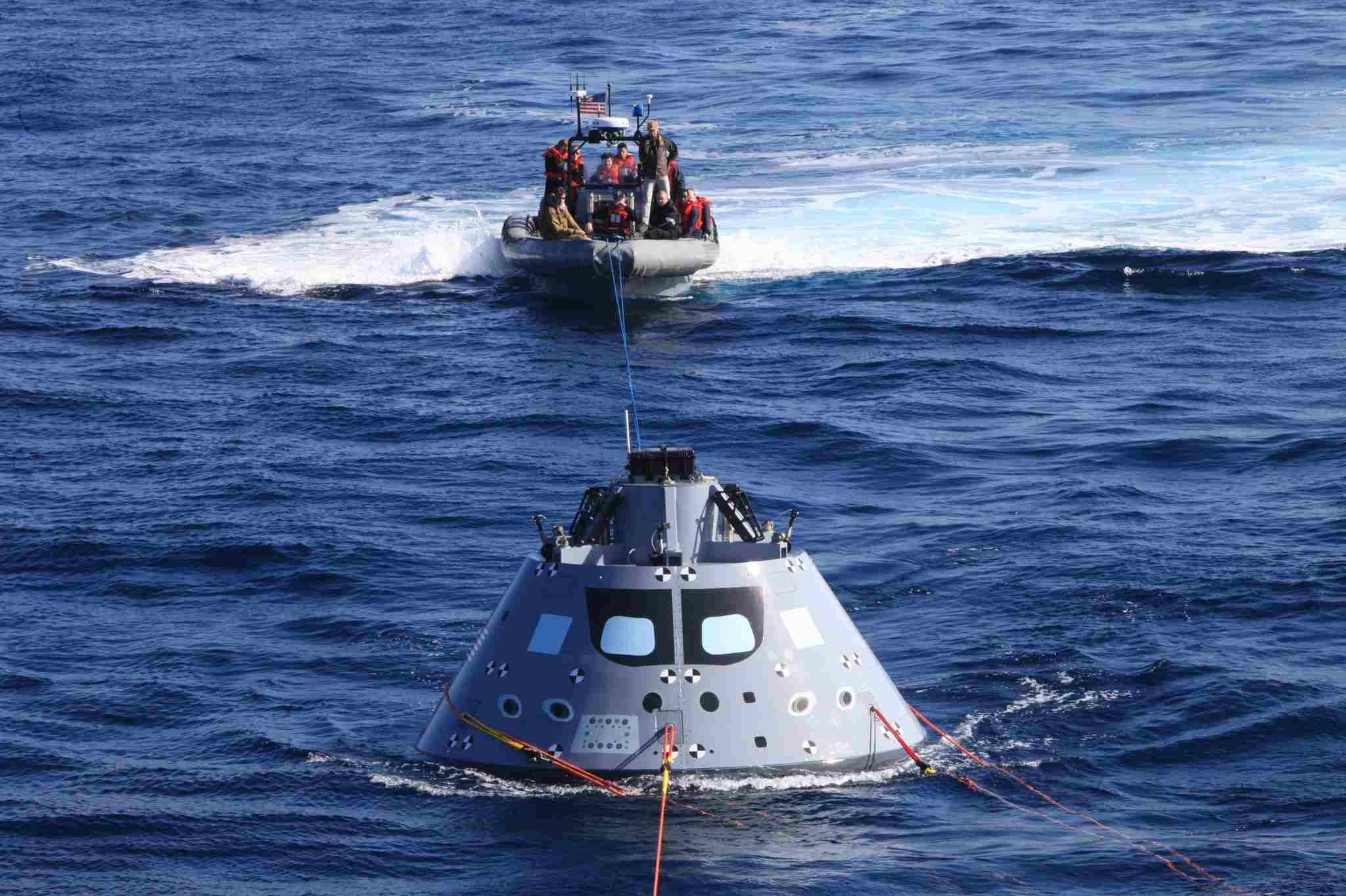 Orion crew capsule.