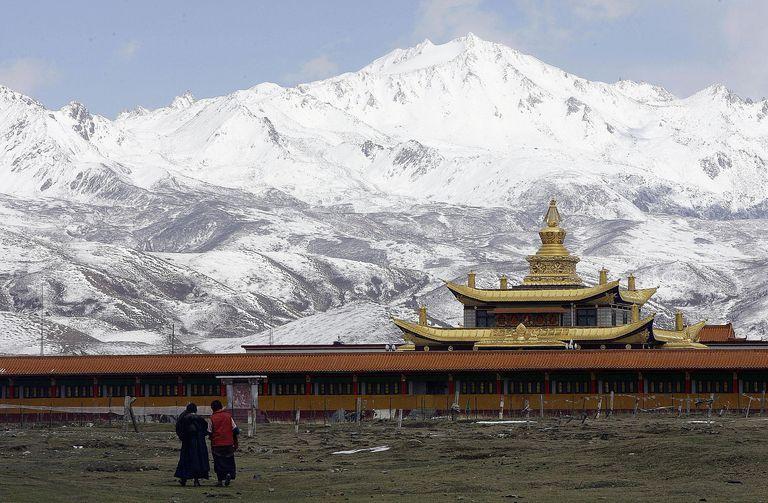 Tagong Temple, Tibet