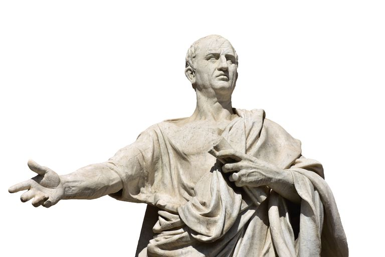 Cicero, the ancient roman senator