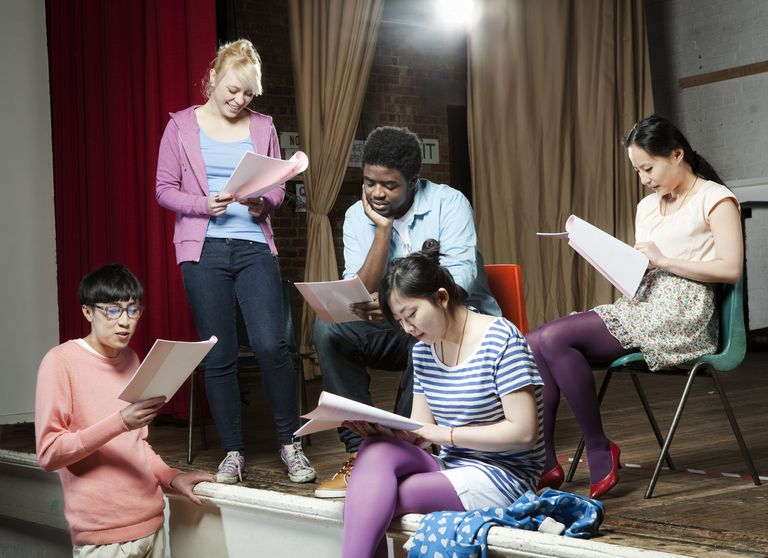 Student and adult actors can check out these short plays.