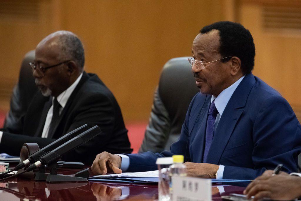 President of Cameroon Paul Biya in China