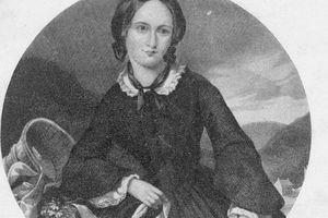 Portrait of Emily Bronte