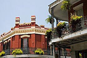 Balconies of the French Quarter, New Orleans, Louisiana.