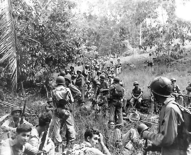 US Marine on Guadalcanal
