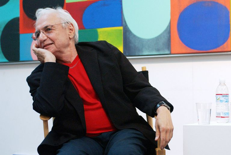 Architect Frank Gehry Answers Questions in Venice, California, 2003