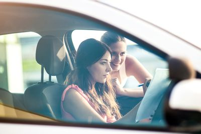 how to safely allow others to test drive your used car