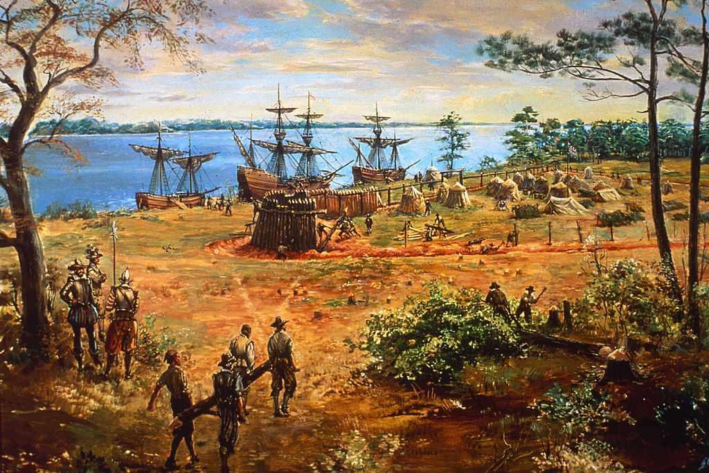 Jamestown Colony, Virginia, 1607