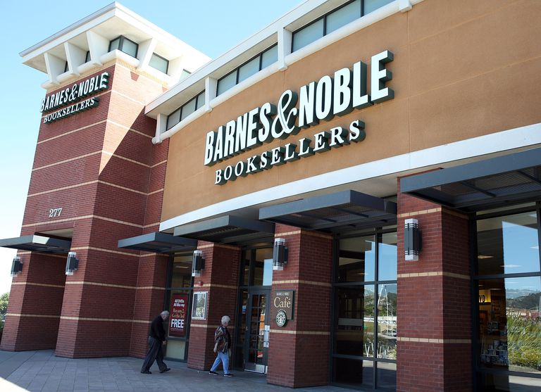 A Barnes & Noble storefront