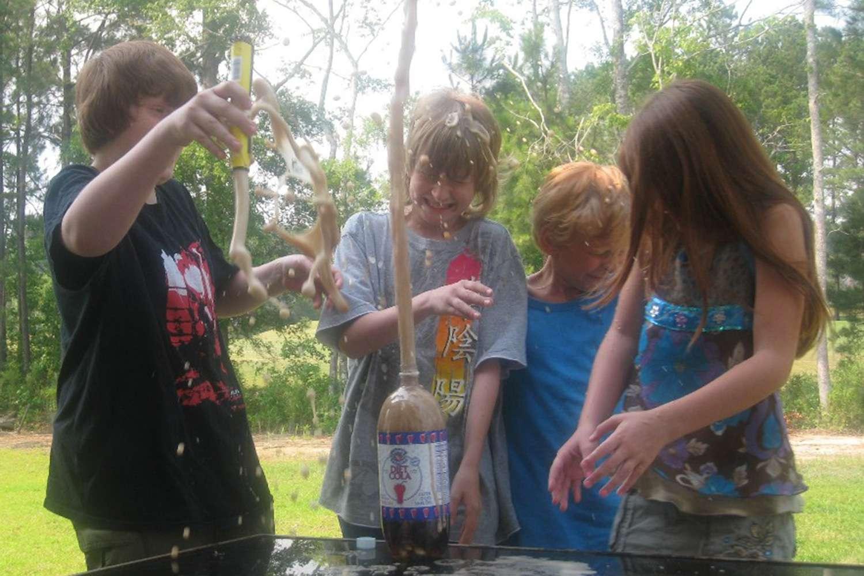 The Mentos-diet soda experiment