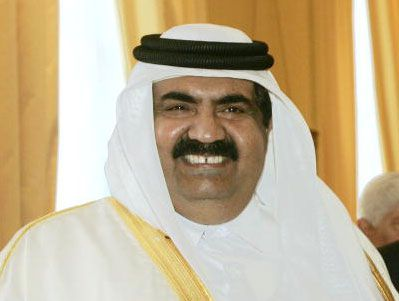 Qatar's Hamad bin Khalifa al-Thani