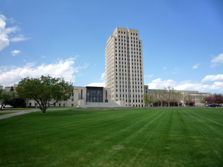 Capitol Building in Bismarck, North Dakota