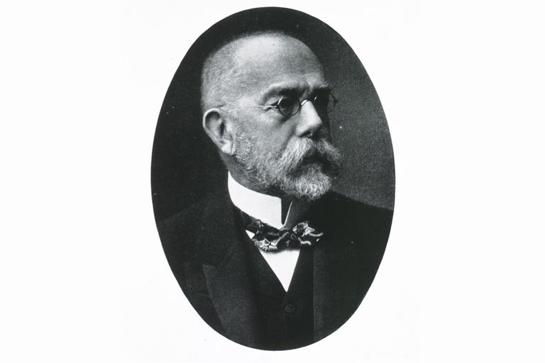 Portrait of Robert Koch