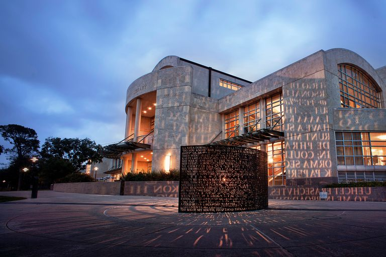 M.D. Anderson Library at the University of Houston